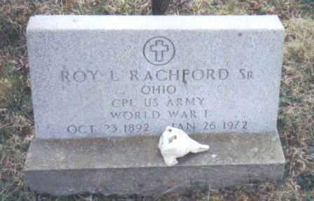 RACHFORD, ROY L. SR. - Scioto County, Ohio | ROY L. SR. RACHFORD - Ohio Gravestone Photos
