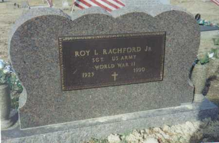 RACHFORD, ROY L. JR. - Scioto County, Ohio | ROY L. JR. RACHFORD - Ohio Gravestone Photos