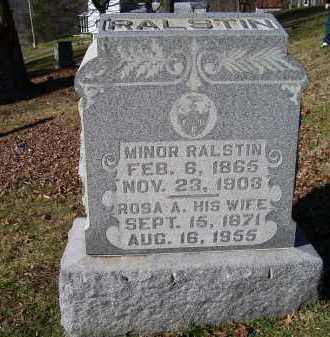 HOCKADEN RALSTIN, ROSA A. - Scioto County, Ohio | ROSA A. HOCKADEN RALSTIN - Ohio Gravestone Photos
