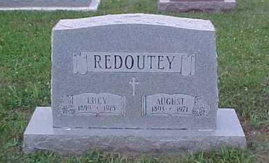 REDOUTEY, AUGUST - Scioto County, Ohio | AUGUST REDOUTEY - Ohio Gravestone Photos