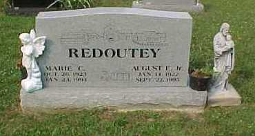 REDOUTEY, AUGUST E. JR. - Scioto County, Ohio | AUGUST E. JR. REDOUTEY - Ohio Gravestone Photos