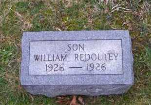 REDOUTEY, WILLIAM - Scioto County, Ohio | WILLIAM REDOUTEY - Ohio Gravestone Photos