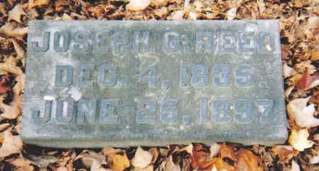 REED, JOSEPH G. - Scioto County, Ohio | JOSEPH G. REED - Ohio Gravestone Photos