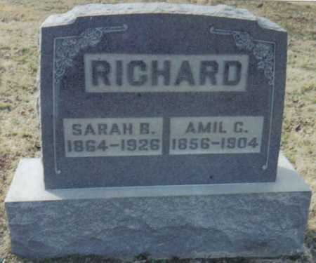RICHARD, SARAH B. - Scioto County, Ohio | SARAH B. RICHARD - Ohio Gravestone Photos