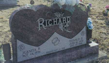RICHARD, DONALD D. - Scioto County, Ohio | DONALD D. RICHARD - Ohio Gravestone Photos