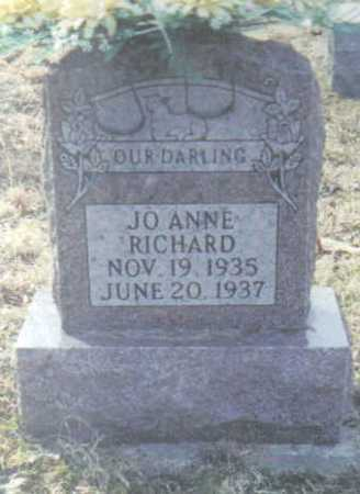 RICHARD, JO ANNE - Scioto County, Ohio | JO ANNE RICHARD - Ohio Gravestone Photos