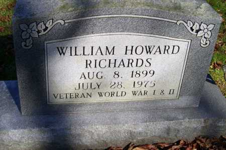 RICHARDS, WILLIAM HOWARD - Scioto County, Ohio | WILLIAM HOWARD RICHARDS - Ohio Gravestone Photos