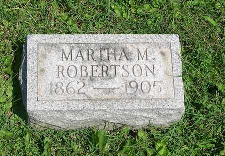 MCLAUGHLIN ROBERTSON, MARTHA - Scioto County, Ohio | MARTHA MCLAUGHLIN ROBERTSON - Ohio Gravestone Photos