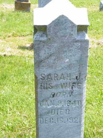 ROBERTSON, SARAH J - Scioto County, Ohio | SARAH J ROBERTSON - Ohio Gravestone Photos