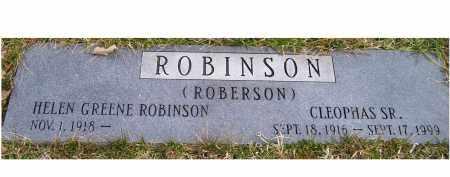 ROBINSON (ROBERSON), HELEN - Scioto County, Ohio | HELEN ROBINSON (ROBERSON) - Ohio Gravestone Photos