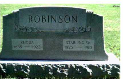 ROBINSON, STARLING SR. - Scioto County, Ohio | STARLING SR. ROBINSON - Ohio Gravestone Photos