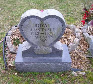 ROYAL, JUANITA SUE - Scioto County, Ohio | JUANITA SUE ROYAL - Ohio Gravestone Photos