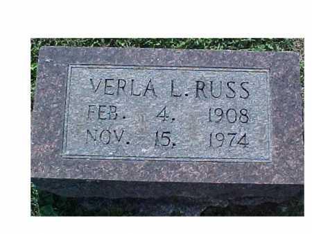 RUSS, VERLA L. - Scioto County, Ohio | VERLA L. RUSS - Ohio Gravestone Photos