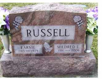 RUSSELL, EARNIE - Scioto County, Ohio | EARNIE RUSSELL - Ohio Gravestone Photos