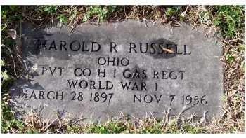 RUSSELL, HAROLD R. - Scioto County, Ohio | HAROLD R. RUSSELL - Ohio Gravestone Photos