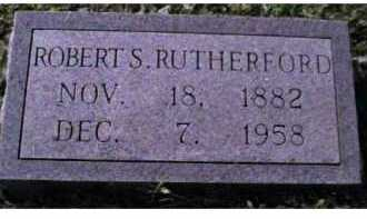 RUTHERFORD, ROBERT S. - Scioto County, Ohio | ROBERT S. RUTHERFORD - Ohio Gravestone Photos