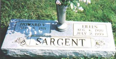 SARGENT, HOWARD V. - Scioto County, Ohio | HOWARD V. SARGENT - Ohio Gravestone Photos