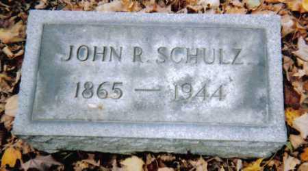SCHULZ, JOHN R. - Scioto County, Ohio | JOHN R. SCHULZ - Ohio Gravestone Photos
