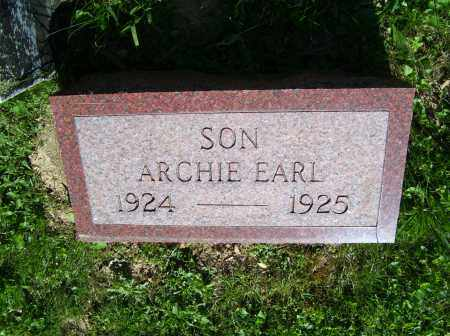 SCOTT, ARCHIE EARL - Scioto County, Ohio | ARCHIE EARL SCOTT - Ohio Gravestone Photos