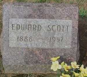 SCOTT, EDWARD - Scioto County, Ohio | EDWARD SCOTT - Ohio Gravestone Photos
