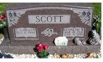 SCOTT, E. CAROLYN - Scioto County, Ohio | E. CAROLYN SCOTT - Ohio Gravestone Photos