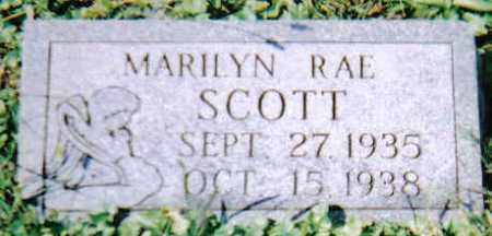 SCOTT, MARILYN RAE - Scioto County, Ohio | MARILYN RAE SCOTT - Ohio Gravestone Photos