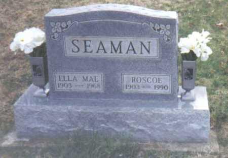 SEAMAN, ELLA MAE - Scioto County, Ohio | ELLA MAE SEAMAN - Ohio Gravestone Photos