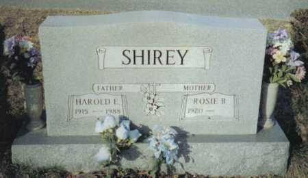 SHIREY, HAROLD E. - Scioto County, Ohio | HAROLD E. SHIREY - Ohio Gravestone Photos