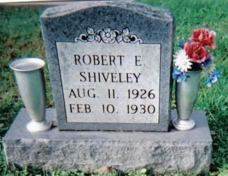 SHIVELEY, ROBERT E. - Scioto County, Ohio | ROBERT E. SHIVELEY - Ohio Gravestone Photos