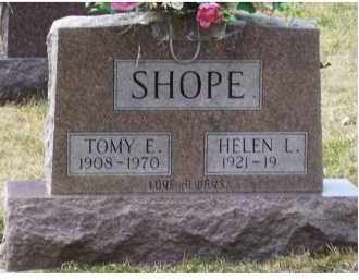 SHOPE, HELEN L. - Scioto County, Ohio | HELEN L. SHOPE - Ohio Gravestone Photos
