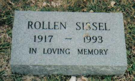 SISSEL, ROLLEN - Scioto County, Ohio | ROLLEN SISSEL - Ohio Gravestone Photos