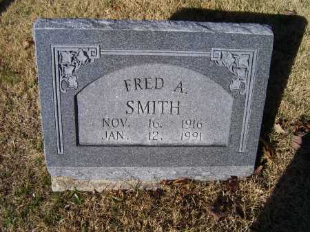 SMITH, FRED A. - Scioto County, Ohio | FRED A. SMITH - Ohio Gravestone Photos