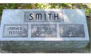 SMITH, MIRANDA - Scioto County, Ohio | MIRANDA SMITH - Ohio Gravestone Photos