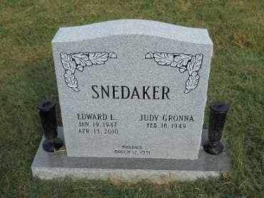 SNEDAKER, EDWARD L. - Scioto County, Ohio | EDWARD L. SNEDAKER - Ohio Gravestone Photos