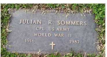 SOMMERS, JULIAN R. - Scioto County, Ohio | JULIAN R. SOMMERS - Ohio Gravestone Photos
