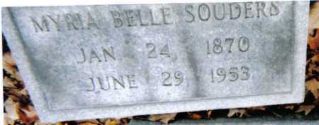 SOUDERS, MYRIA BELLE - Scioto County, Ohio | MYRIA BELLE SOUDERS - Ohio Gravestone Photos