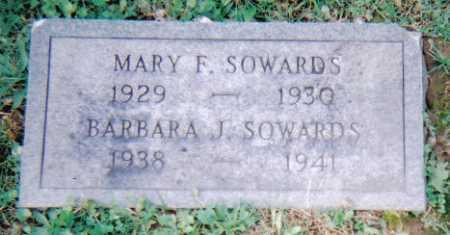 SOWARDS, BARBARA J. - Scioto County, Ohio | BARBARA J. SOWARDS - Ohio Gravestone Photos