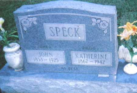 SPECK, KATHERINE - Scioto County, Ohio | KATHERINE SPECK - Ohio Gravestone Photos