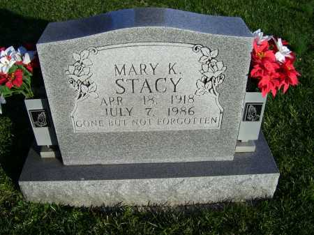 STACY, MARY K. - Scioto County, Ohio | MARY K. STACY - Ohio Gravestone Photos