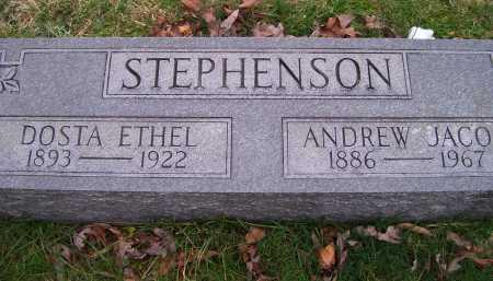 STEPHENSON, ANDREW JACOB - Scioto County, Ohio | ANDREW JACOB STEPHENSON - Ohio Gravestone Photos