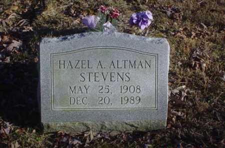 STEVENS, HAZEL A. - Scioto County, Ohio | HAZEL A. STEVENS - Ohio Gravestone Photos