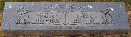 STOCKHAM, ANNA MARY - Scioto County, Ohio | ANNA MARY STOCKHAM - Ohio Gravestone Photos