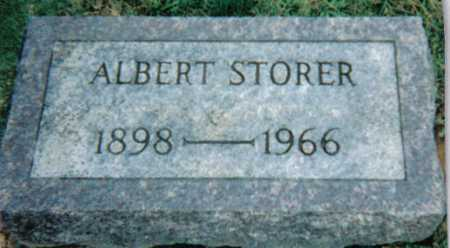 STORER, ALBERT - Scioto County, Ohio | ALBERT STORER - Ohio Gravestone Photos