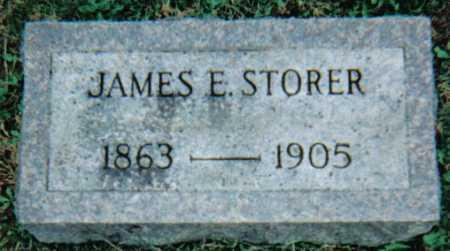 STORER, JAMES E. - Scioto County, Ohio | JAMES E. STORER - Ohio Gravestone Photos