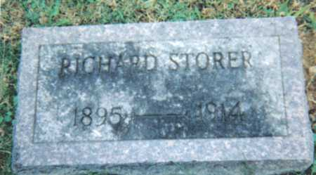 STORER, RICHARD - Scioto County, Ohio | RICHARD STORER - Ohio Gravestone Photos