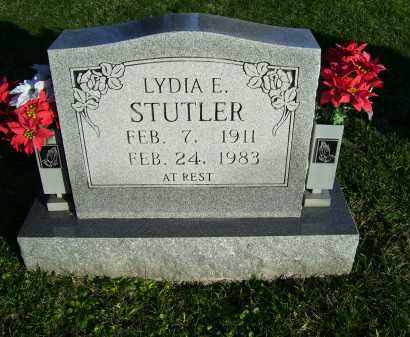 STUTLER, LYDIA E. - Scioto County, Ohio | LYDIA E. STUTLER - Ohio Gravestone Photos
