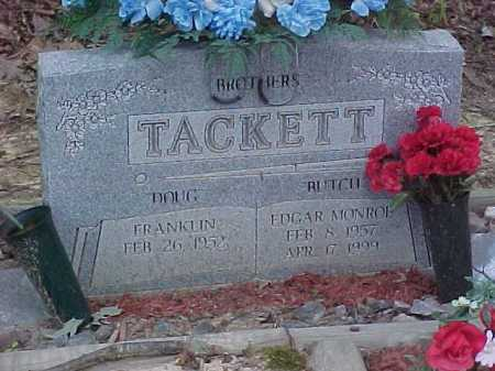 TACKETT, FRANKLIN - Scioto County, Ohio | FRANKLIN TACKETT - Ohio Gravestone Photos