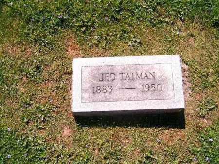 TATMAN, JED - Scioto County, Ohio | JED TATMAN - Ohio Gravestone Photos