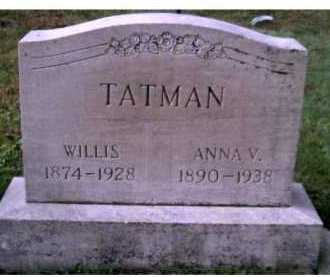 TATMAN, WILLIS - Scioto County, Ohio | WILLIS TATMAN - Ohio Gravestone Photos