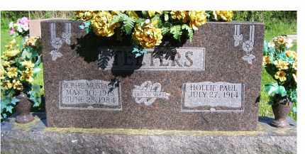 MUSTARD TEETERS, BURHL - Scioto County, Ohio | BURHL MUSTARD TEETERS - Ohio Gravestone Photos